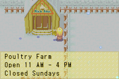 Harvest Moon - More Friends of Mineral Town - Just when i needed feed... Its Sunday... - User Screenshot